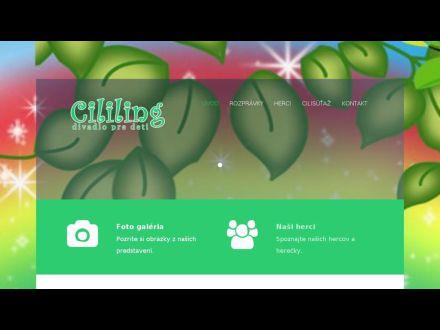 www.cililing.sk