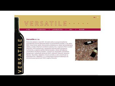 www.versatile.sk