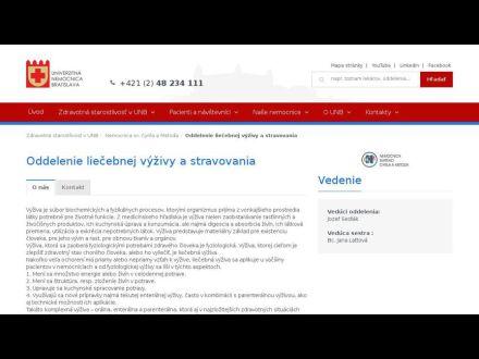 www.unb.sk/oddelenie-liecebnej-vyzivy-a-stravovania