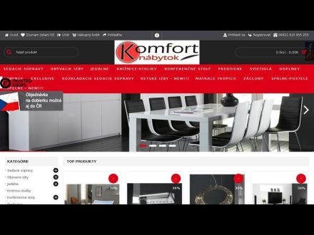www.komfort-nabytok.sk