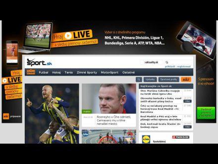 www.sport.sk