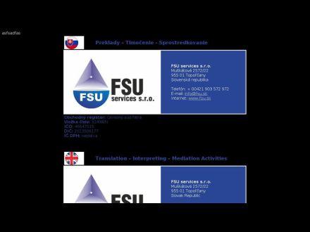 www.fsu.sk