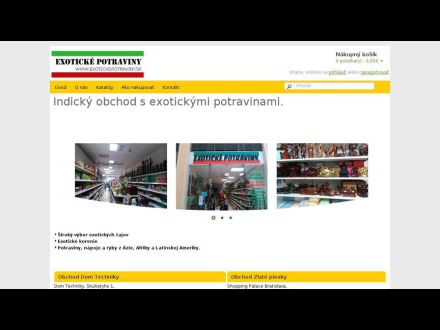 www.exotickepotraviny.sk