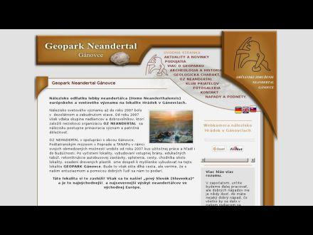 www.geoparkganovce.sk