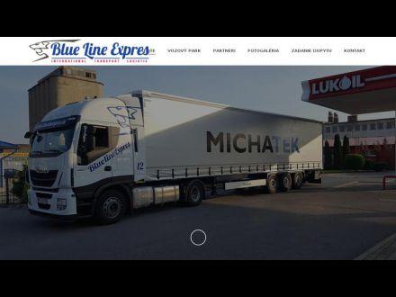www.bluelineexpres.sk