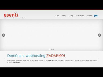 www.esenti.sk