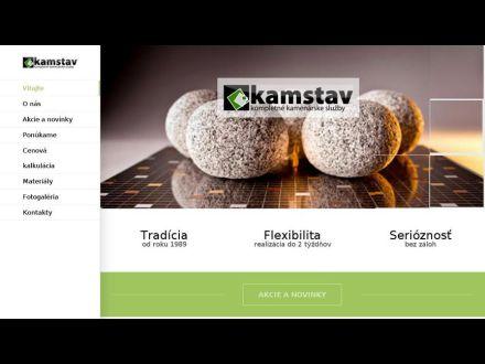 www.kamenarstvo-kamstav.sk