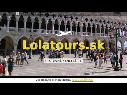 www.lolatours.sk