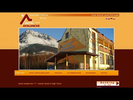 www.hotelavalanche.sk