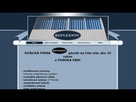 www.reflexion.sk