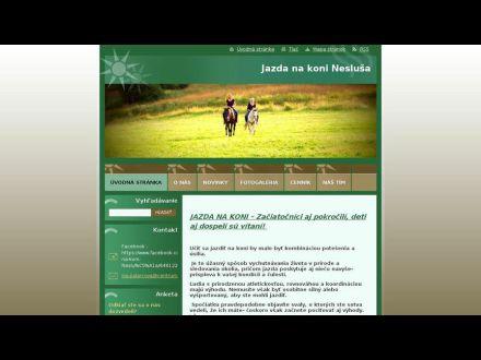 www.jazdanakonineslusa.sk