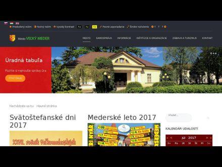 www.velkymeder.sk