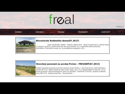 www.freal.sk