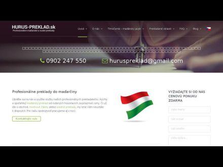 www.hurus-preklad.sk