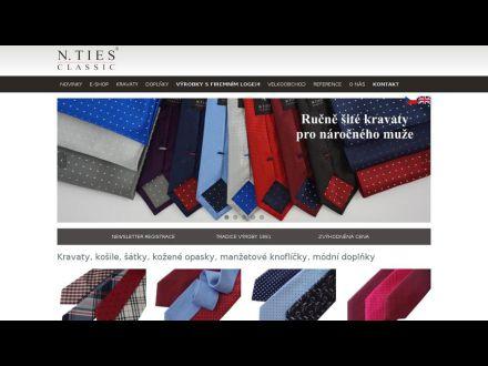 www.kravaty-kosile.cz