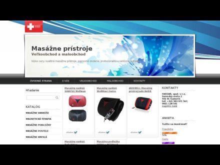 www.masazne-pristroje.sk