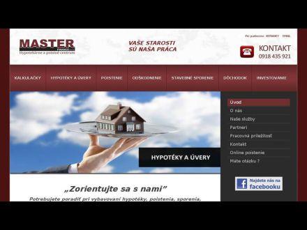 www.masterfinance.sk