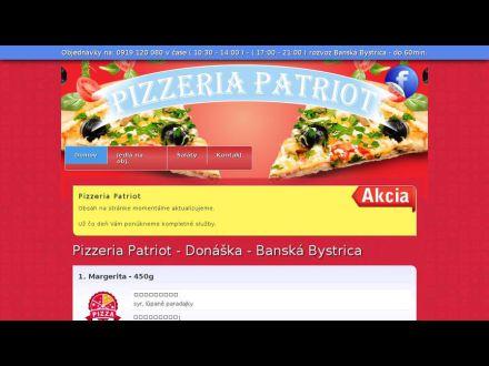 www.pizzeriapatriot.sk