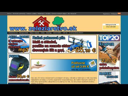 www.eshop.zeleziarstvo.sk