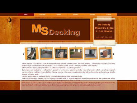 www.msdecking.sk