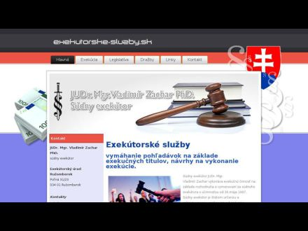 www.exekutorske-sluzby.sk