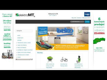 www.elektromt.sk