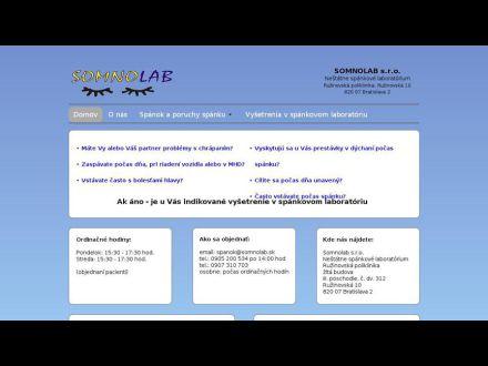 www.somnolab.sk