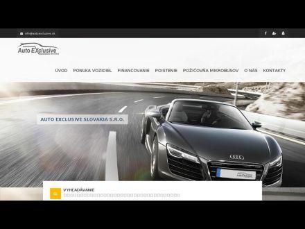 www.autoexclusive.sk
