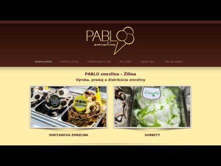 www.pablozmrzlina.sk