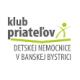 Klub priateľov Detskej nemocnice v Banskej Bystrici, IČO: 42002150