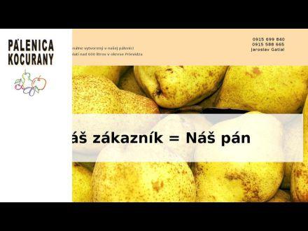 www.palenicakocurany.sk