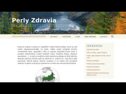 www.perlyzdravia.sk