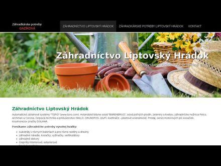 www.zahradnictvo-liptovsky-hradok.sk