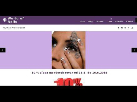 www.worldofnails.sk