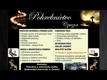 www.pohrebnictvoczuczor.sk