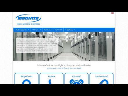 www.mediate.sk