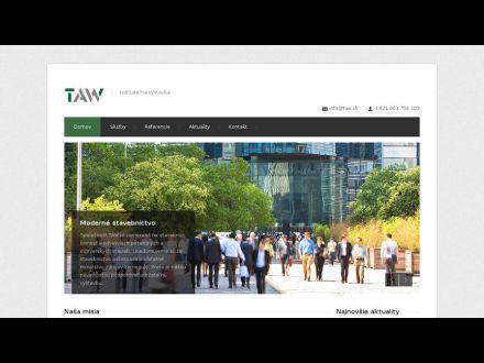 www.taw.sk