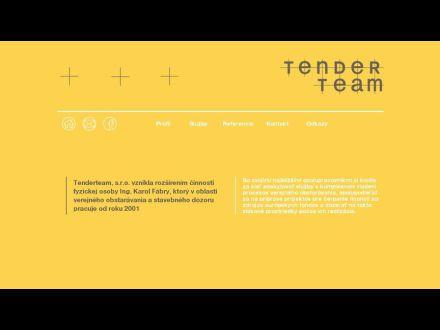 www.tenderteam.sk