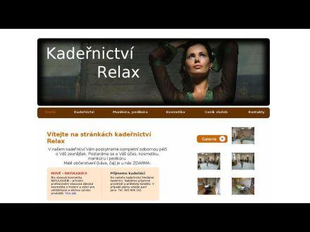 www.kadernictvirelax.cz