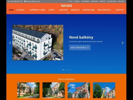www.kaczer.sk/