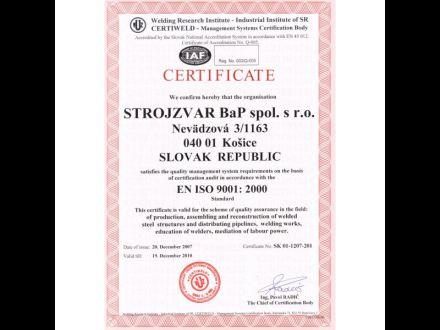 Zváračská škola Strojzvar BaP spol. s.r.o. obr. 3